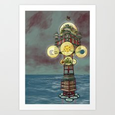 A Man Who Knows Enough Is Enough Will Always Have Enough Art Print