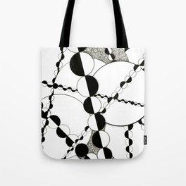 Half Mania Tote Bag