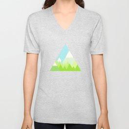 national park geometric pattern Unisex V-Neck