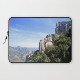 Landscape of Montserrat mountain in Catalonia, Spain Laptop Sleeve