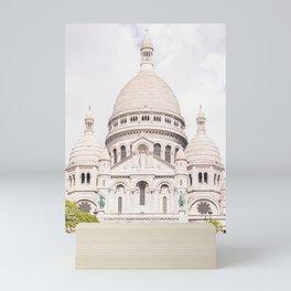 The Sacre-Coeur Basilica in Paris Mini Art Print