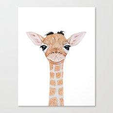 Little Giraffe Canvas Print