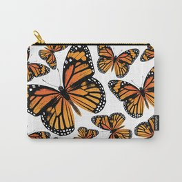 Monarch Butterflies | Monarch Butterfly | Vintage Butterflies | Butterfly Patterns | Carry-All Pouch
