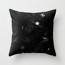 Gravity 3.0 Throw Pillow
