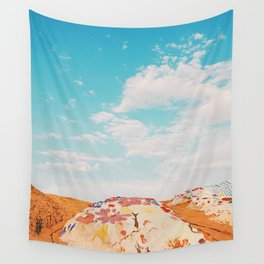 Salvation Mountain, California Wall Tapestry