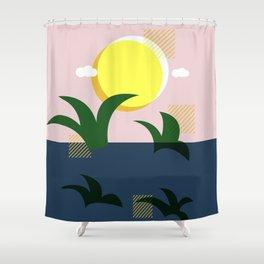 A Beautiful Morning Shower Curtain