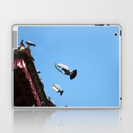all day long Laptop & iPad Skin