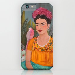 Frida a la casa azul iPhone Case
