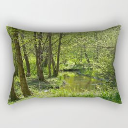 Idyllic scenery Rectangular Pillow