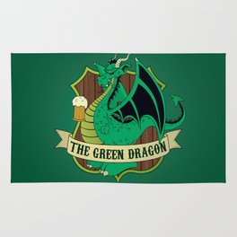 The Green Dragon Pub Rug