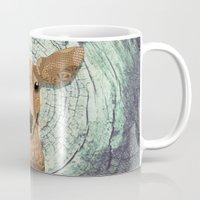 bambi Mugs featuring Bambi by ArtLovePassion