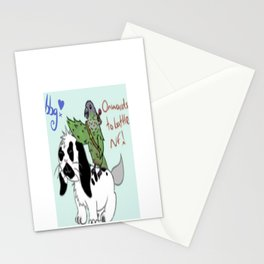 Onwards to battle! Stationery Cards