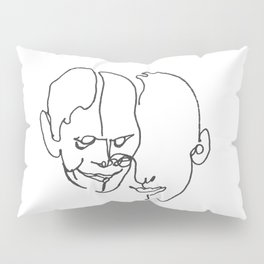 When two become one Pillow Sham
