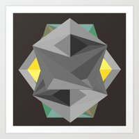 shield Art Prints featuring Shield by Tracy