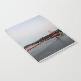 GOLDEN GATE BRIDGE - TWILIGHT - CALIFORNIA Notebook