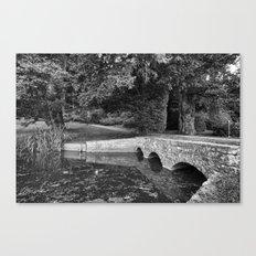Newton Park Bridge. Canvas Print