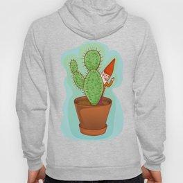 fairytale dwarf with cactus Hoody