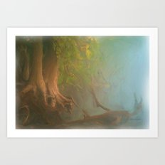 Gnarled and Broken Art Print
