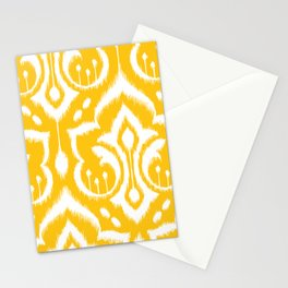 Ikat Damask Stationery Cards