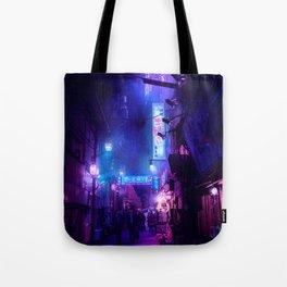 Tokyo Nights / Midnight City / Liam Wong Tote Bag