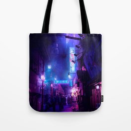 Tokyo Nights / Midnight City / Liam Wong Tote Bag