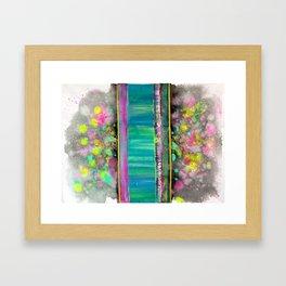 Brain Mush II Framed Art Print