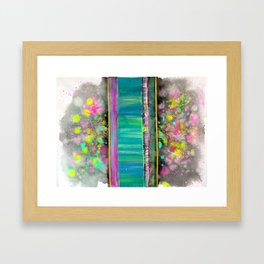 Brain Mush II Framed Art Print
