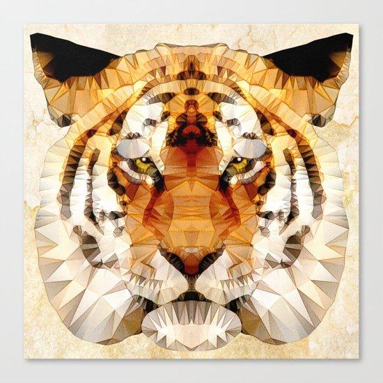 abstract tiger Canvas Print
