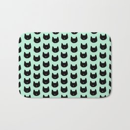 Cat Heart Nose Pattern Bath Mat