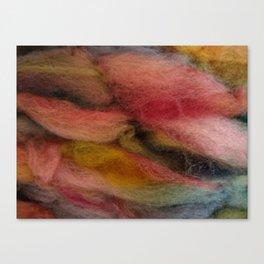 Dimensional coral wool Canvas Print