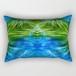 Insectile Energy Rectangular Pillow