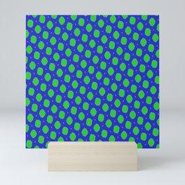 BLUE-GREEN ALGAE PATTERN Mini Art Print