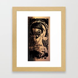 Let us hide Framed Art Print