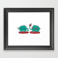 Apple Thief Framed Art Print