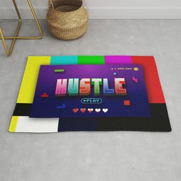 Hustle Arcade Game Rug