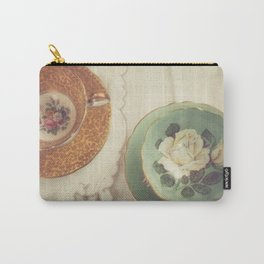 Two Teacups Carry-All Pouch