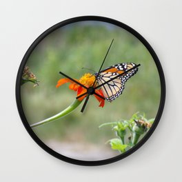 butterfly kisses Wall Clock