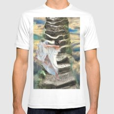 She's buying a stairway to heaven MEDIUM White Mens Fitted Tee