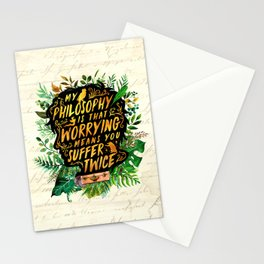 Newt Scamander Stationery Cards