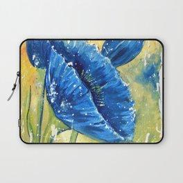 Fleur Bleu Laptop Sleeve