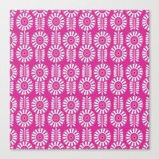 Think Spring: Magenta Canvas Print