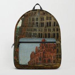 Pieter Bruegel the Elder - The Tower of Babel (Rotterdam) Backpack