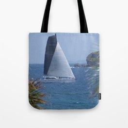 Sailing in Guana Bay Tote Bag
