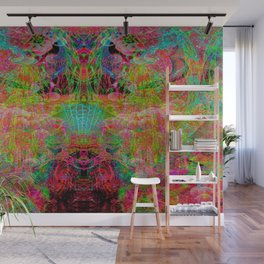 Alien Mind Transfer Wall Mural