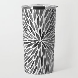 Blackened Burst Travel Mug