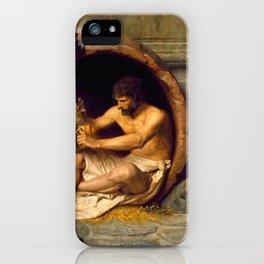 Jean-Léon Gérôme Diogenes - Philosophy iPhone Case