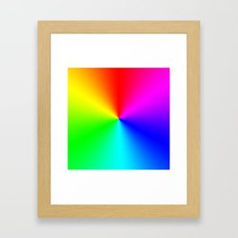 The Flickering Lights Framed Art Print