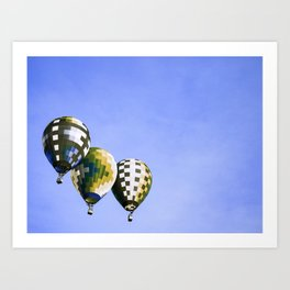 Air Balloons 3 Art Print