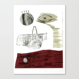Abstract face 2. Canvas Print