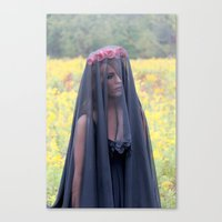 lolita Canvas Prints featuring Lolita by Kendall Heaphey Photography